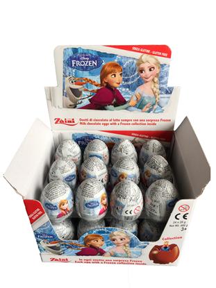 Afbeeldingen van Disney Frozen Chocolade ei 20gr