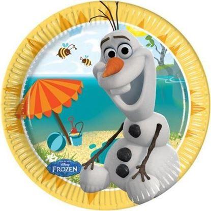 Afbeeldingen van Olaf bordjes