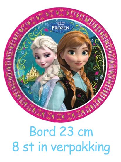 Afbeelding van Frozen Roze  Bordjes