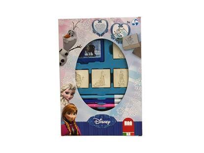 Afbeeldingen van Disney Frozen stempelset 12dlg