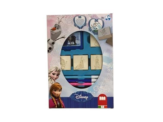 Afbeelding van Disney Frozen stempelset 12dlg