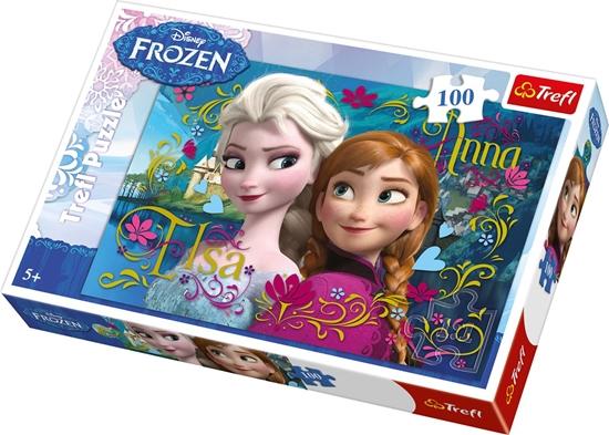 Afbeelding van Disney Frozen Puzzel 100