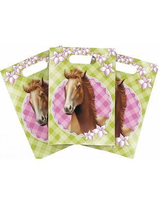 Afbeeldingen van Uitdeelzakjes Paarden