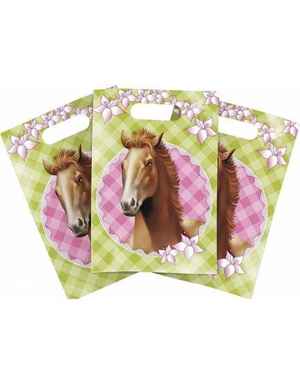 Afbeelding van Uitdeelzakjes Paarden