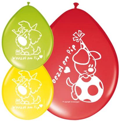Afbeeldingen van Woezel en Pip Ballonnen