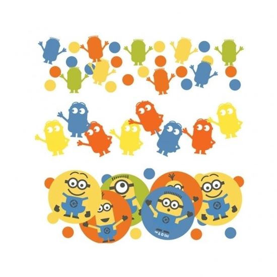 Afbeelding van Confetti Minions (Despicable Me)