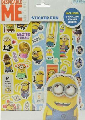 Afbeeldingen van Stickerfun Minions (Despicable me)