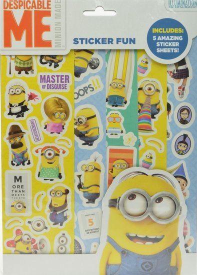 Afbeelding van Stickerfun Minions (Despicable me)