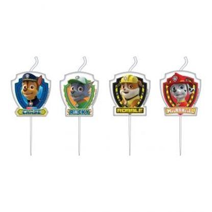 Afbeeldingen van Mini kaars figuren Paw Patrol