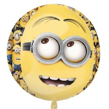 Afbeeldingen van Heliumballon 2 Minions (Despicable Me)