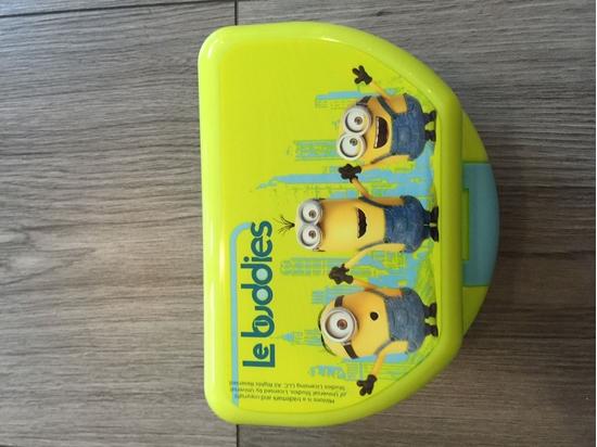 Afbeelding van Bakje (Lunch/Fruit) Minions (Despicable Me) Le buddies
