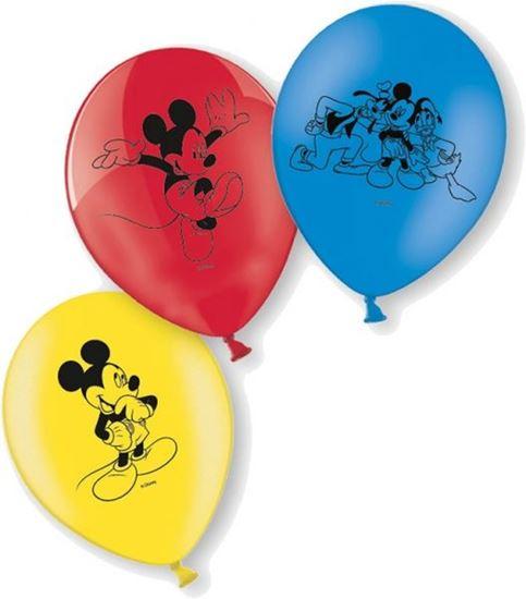 Afbeelding van Ballonnen 10 st. Mickey Mouse