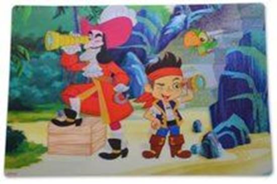Afbeelding van Disney Jake en de nooitgedachtland piraten Placemat
