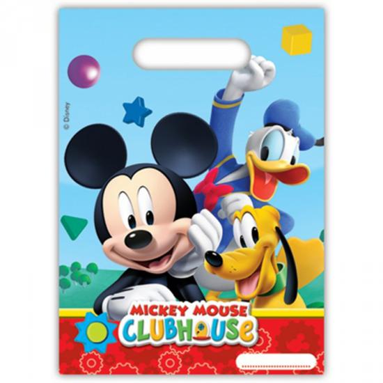 Afbeelding van Uitdeelzakjes Mickey Mouse