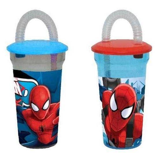 Afbeelding van Spiderman rietjesbeker