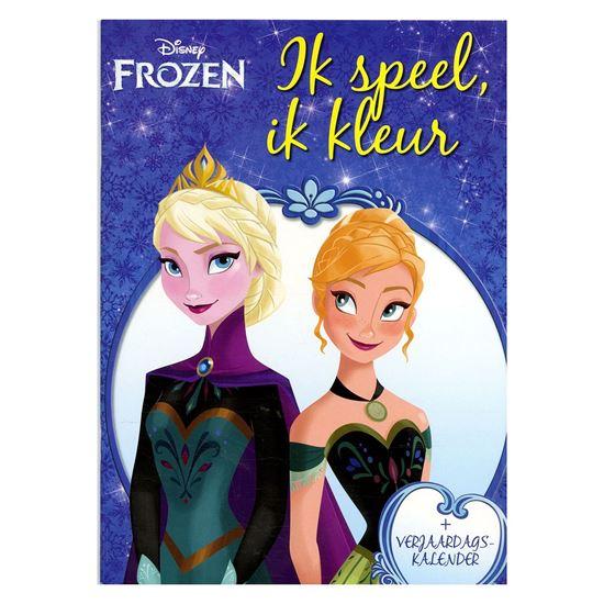 Afbeelding van Disney Frozen ik speel, ik kleur