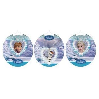 Afbeeldingen van Frozen lampion rond