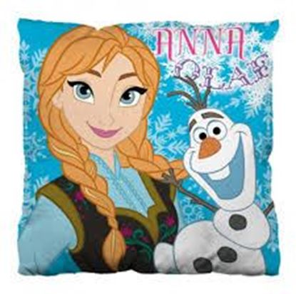 Afbeeldingen van Disney Frozen Kussen Anna en Olaf