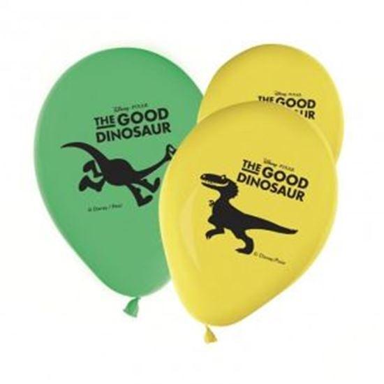 Afbeelding van Ballonnen 8 st. The Good Dinosaur