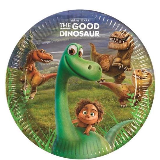 Afbeelding van Bordjes 23cm 8 st. The Good Dinosaur