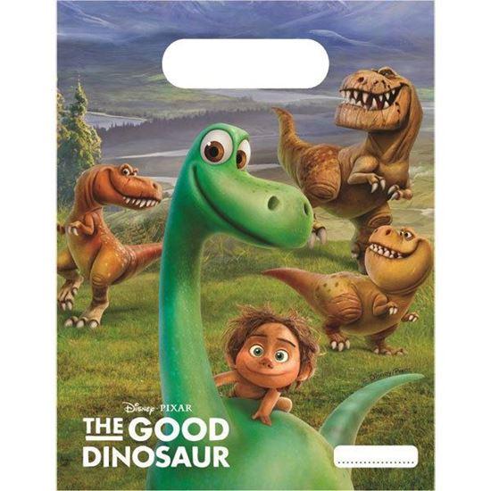 Afbeelding van Uitdeelzakjes 6 st. The Good Dinosaur