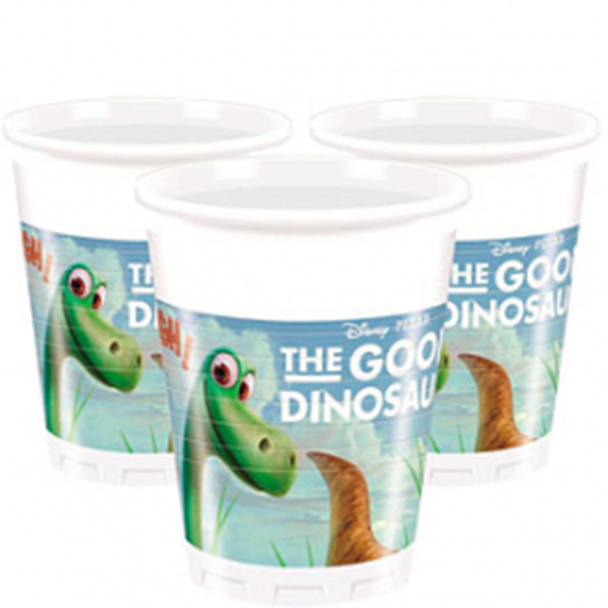 Afbeelding van Bekertjes 8 st. 200ml The Good Dinosaur