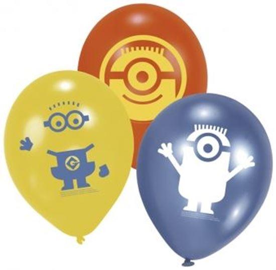 Afbeelding van Ballonnen Minions (Despicable Me)