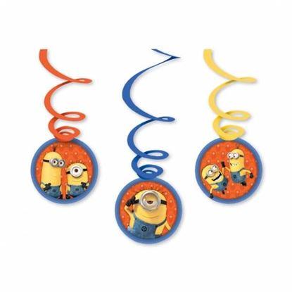 Afbeeldingen van Hangdeco oranje Minions (Despicable Me)