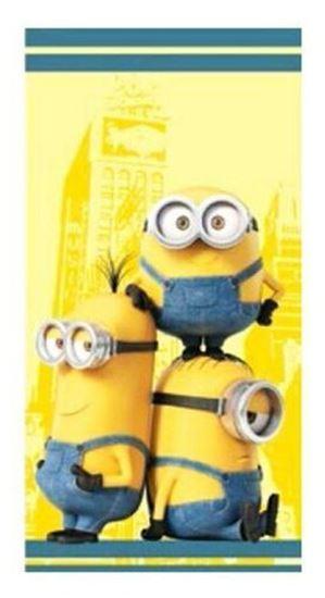 Afbeelding van Badlaken Minions geel