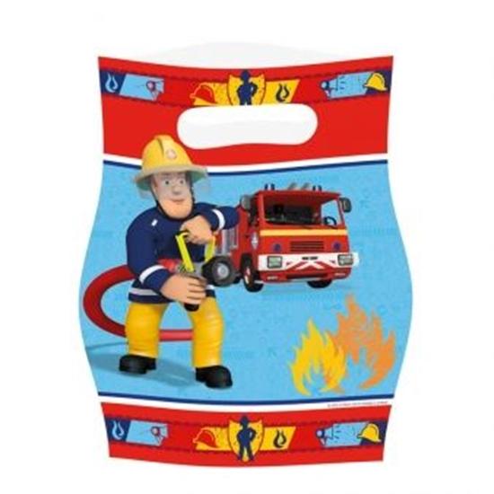 Afbeelding van Uitdeelzakjes Brandweerman Sam