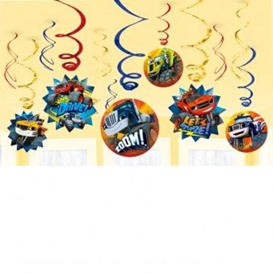 Afbeelding van Blaze en de Monsterwielen Hangdeco