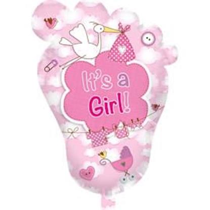 Afbeeldingen van Folie ballon XL It's a girl