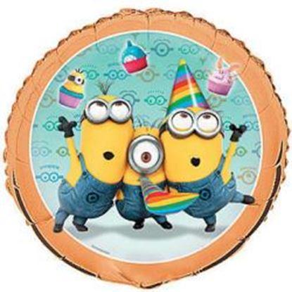 Afbeeldingen van Heliumballon feest Minions (Despicable Me)