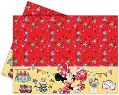 Afbeeldingen van Tafelkleed Minnie Mouse