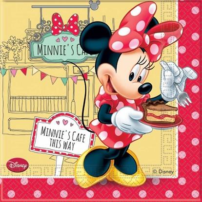 Afbeeldingen van Servetten Minnie Mouse