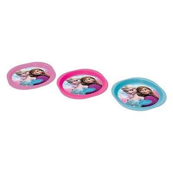 Afbeelding van Borden plastic Disney Frozen