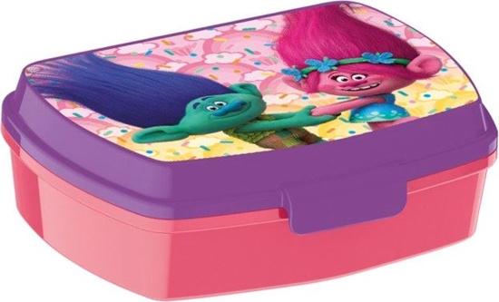 Afbeelding van Trolls lunchbox plastic