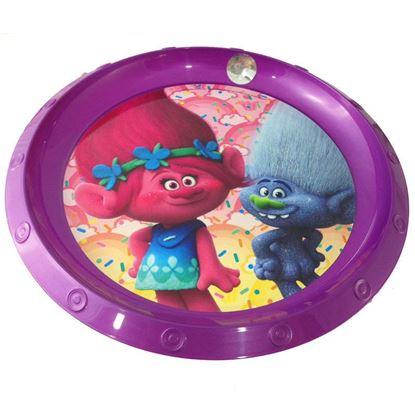 Afbeeldingen van Trolls bord plastic