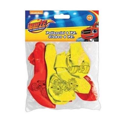 Afbeeldingen van Blaze en de Monsterwielen ballonnen