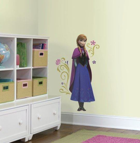 Afbeelding van Muursticker Frozen RoomMates:  Anna