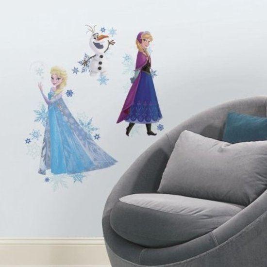 Afbeelding van Muursticker Frozen RoomMates: group