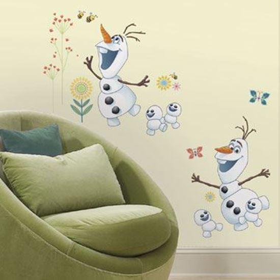 Afbeelding van Muursticker Frozen Fever RoomMates: Olaf