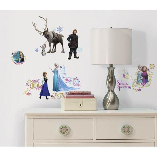 Afbeelding van Muursticker Frozen RoomMates