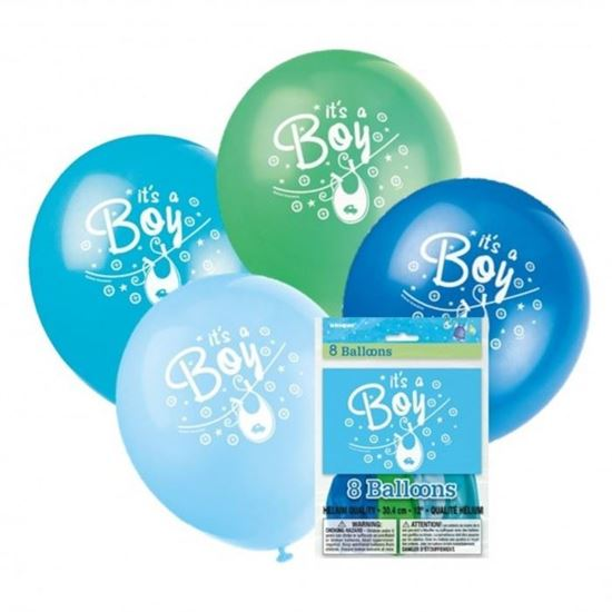 Afbeelding van Ballonnen it's a Boy