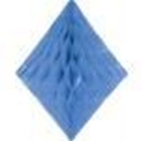 Afbeelding van Babyshower honeycomb diamant Blauw