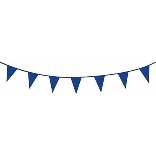 Afbeelding van Vlaggenlijn blauw 10 meter