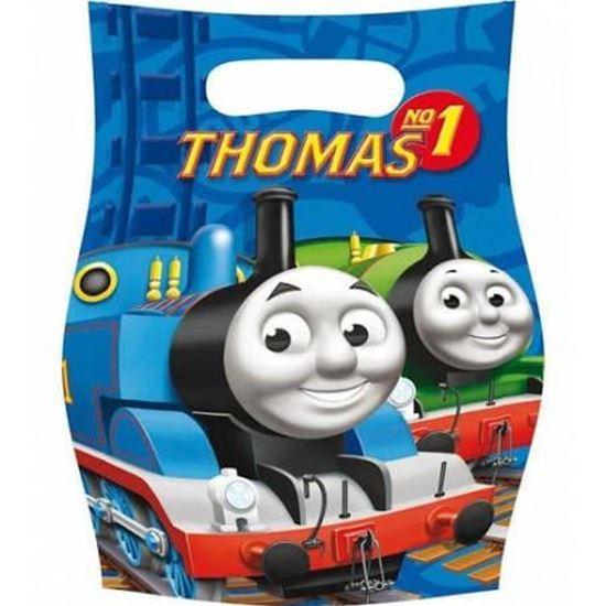 Afbeelding van Thomas de trein Uitdeelzakjes blauw