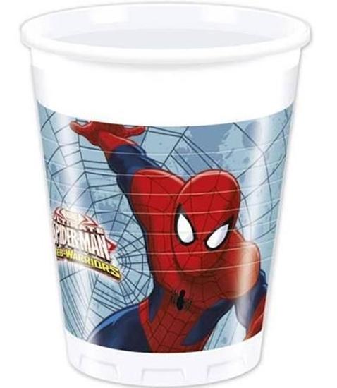 Afbeelding van Spiderman bekertjes 200ml