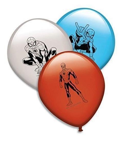 Afbeelding van Spiderman ballonnen 8 stuks