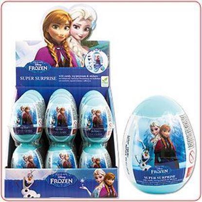 Afbeeldingen van Disney Frozen ei met snoep en stickers